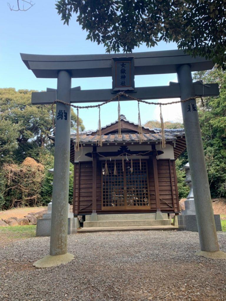 女嶽神社 鳥居