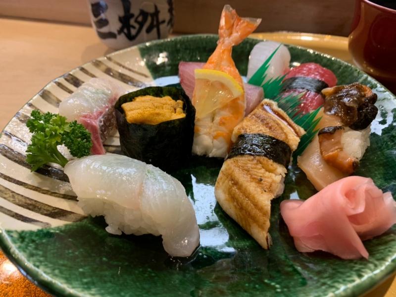 三益寿司 特上にぎり