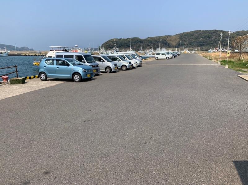 観光案内所 駐車場